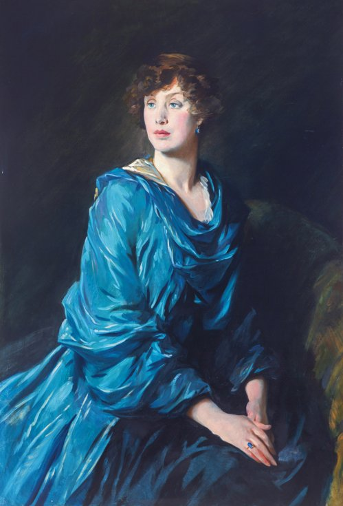 Lady Crewe by Glyn Philpot, 1917
