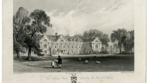 west horsley place 1841
