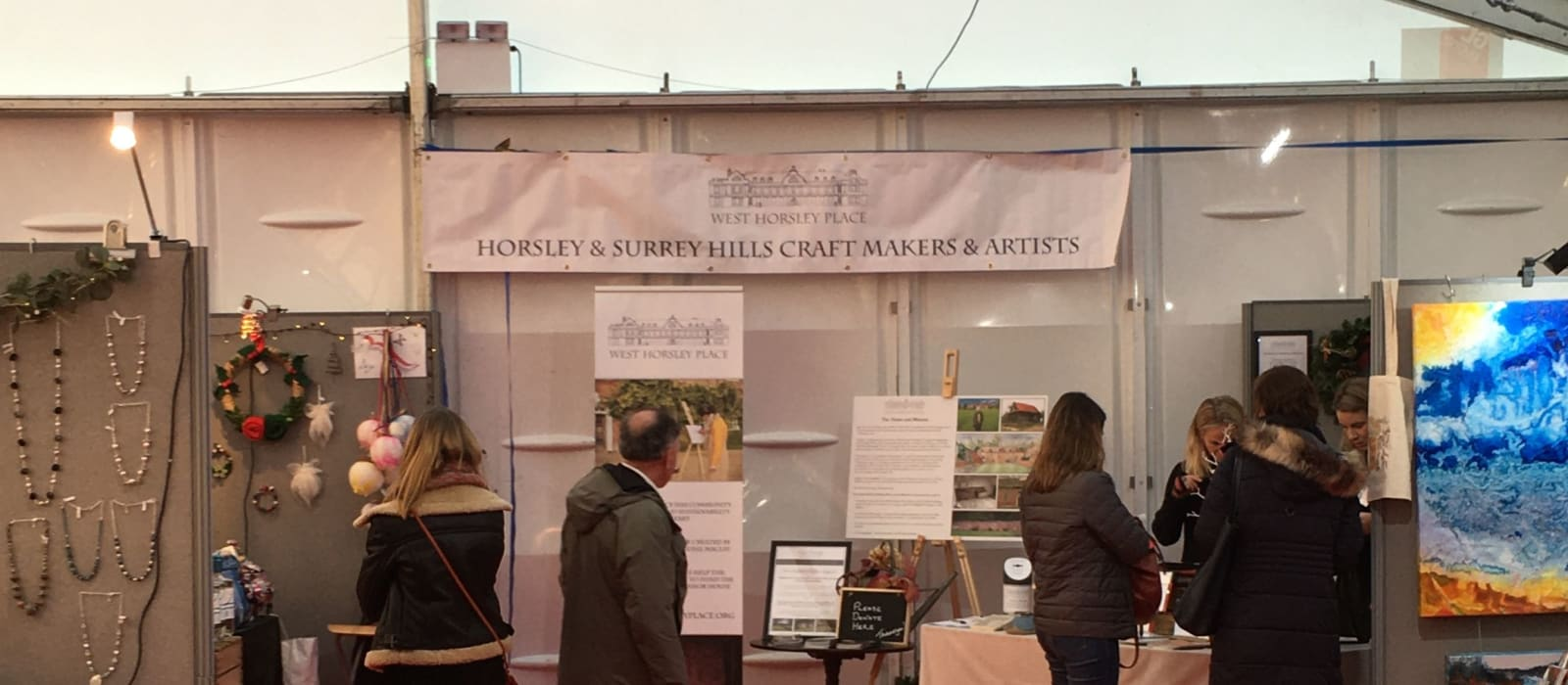 West Horsley Place is Delighted to Present a Dedicated Area for Horsley & Surrey Hills Craftmakers and Artists at the Craft Fair