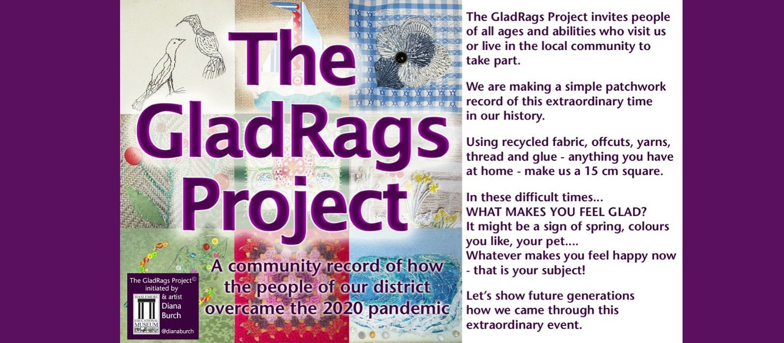 Welcome to The GladRags Project