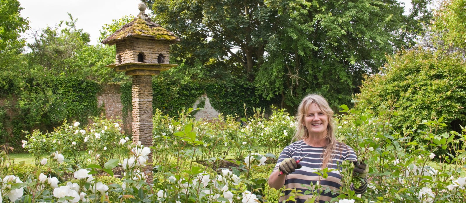 West Horsley Place Gardener Nicky Webber