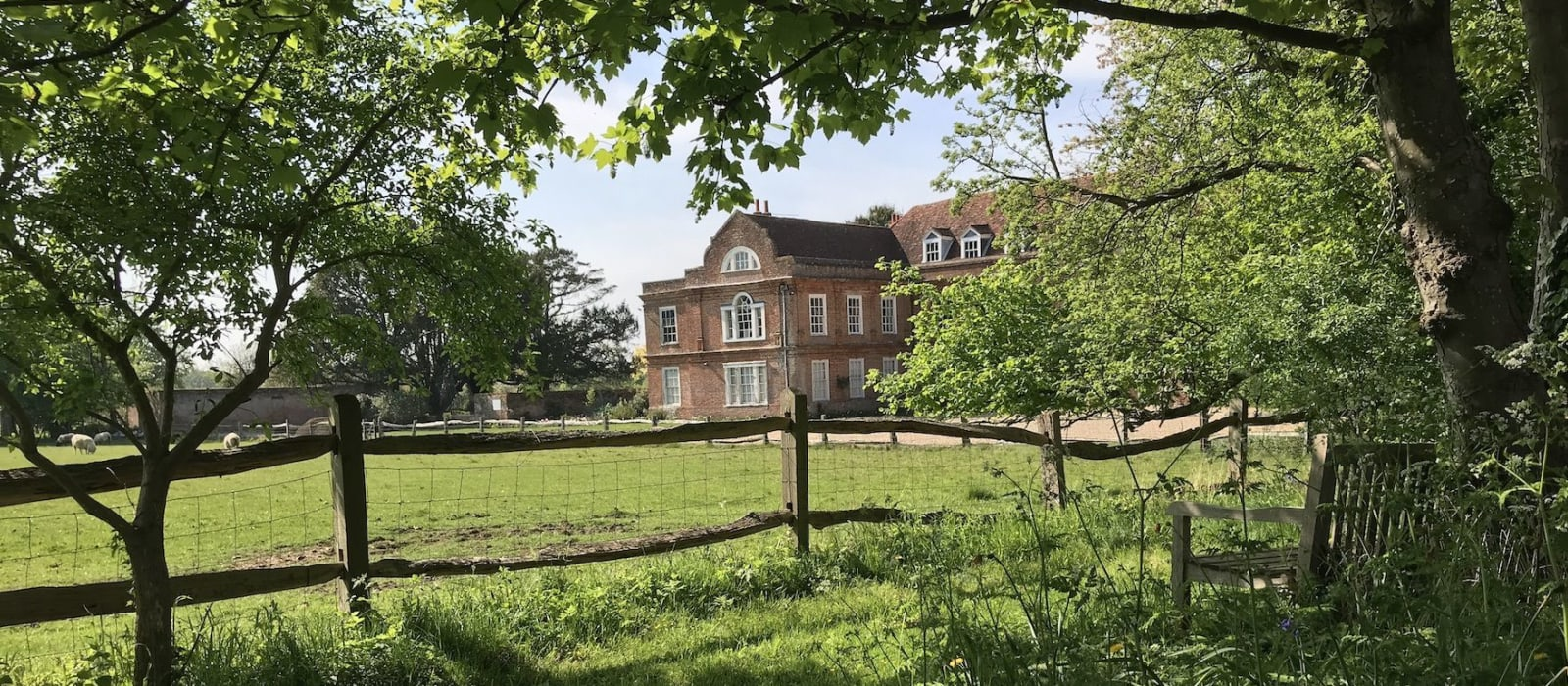 view of West Horsley Place in Spring